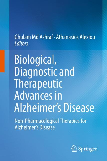 Cover of 'Biological, Diagnostic and Therapeutic Advances in Alzheimer's Disease'