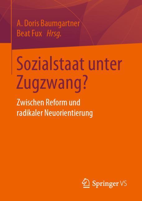 Cover of 'Sozialstaat unter Zugzwang?'