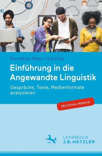 Cover of 'Einführung in die Angewandte Linguistik'