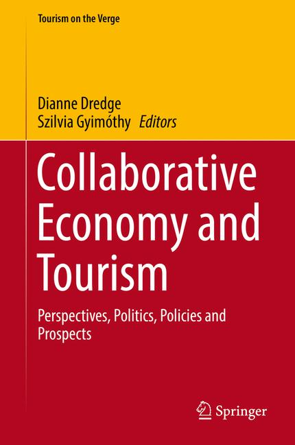 Cover of 'Collaborative Economy and Tourism'