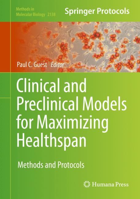Cover of 'Clinical and Preclinical Models for Maximizing Healthspan'