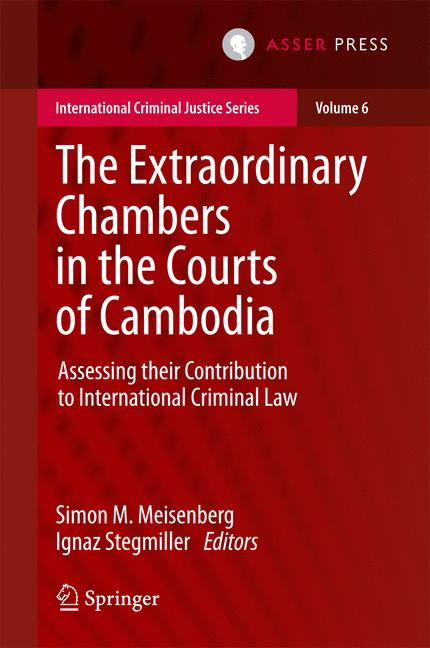 Cover of 'The Extraordinary Chambers in the Courts of Cambodia'