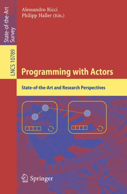 Cover of 'Programming with Actors'