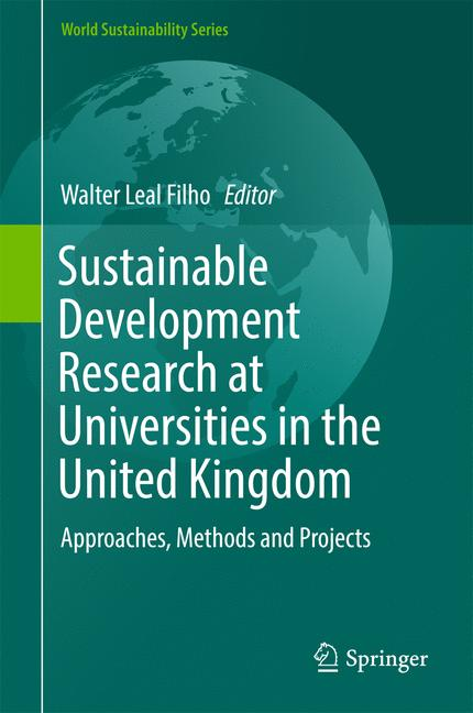 Cover of 'Sustainable Development Research at Universities in the United Kingdom'