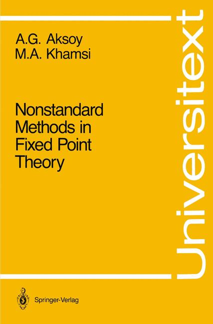 Cover of 'Nonstandard Methods in Fixed Point Theory'