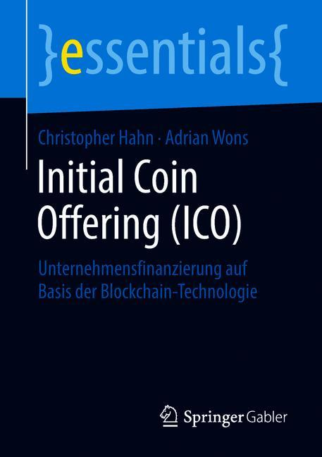 Cover of 'Initial Coin Offering (ICO)'