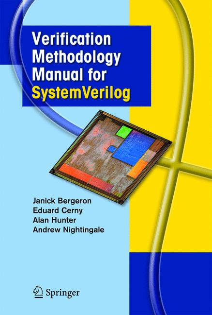 Cover of 'Verification Methodology Manual for SystemVerilog'