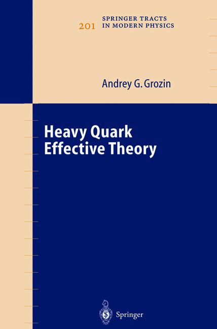 Cover of 'Heavy Quark Effective Theory'