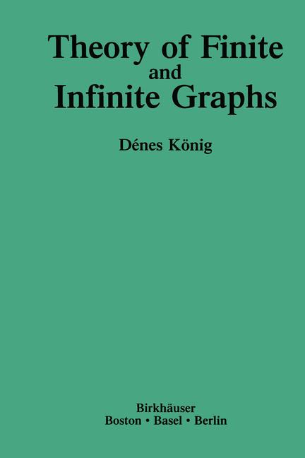 Cover of 'Theory of Finite and Infinite Graphs'