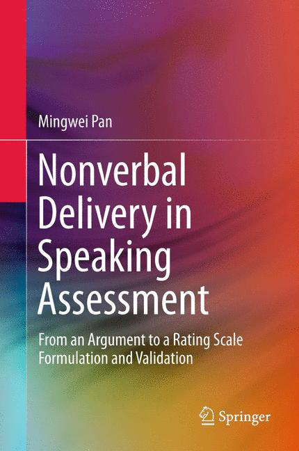 Cover of 'Nonverbal Delivery in Speaking Assessment'