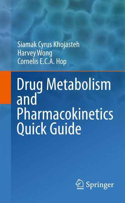 Cover of 'Drug Metabolism and Pharmacokinetics Quick Guide'