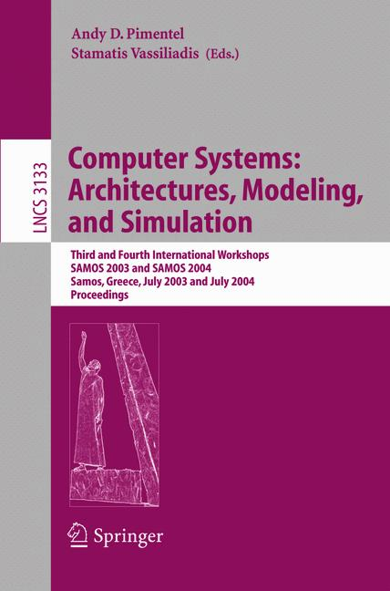 Cover of 'Computer Systems: Architectures, Modeling, and Simulation'