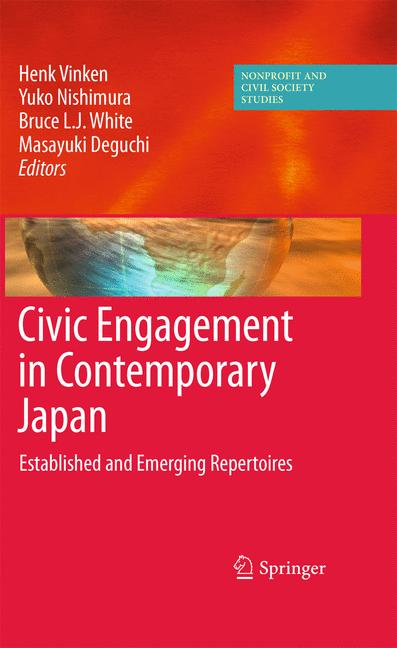 Cover of 'Civic Engagement in Contemporary Japan'
