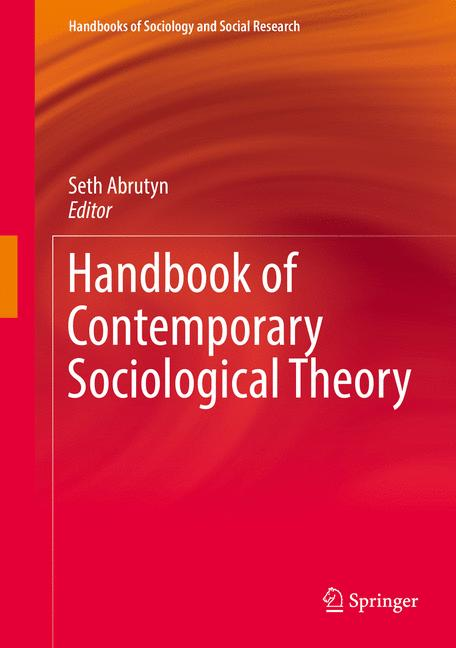 Cover of 'Handbook of Contemporary Sociological Theory'