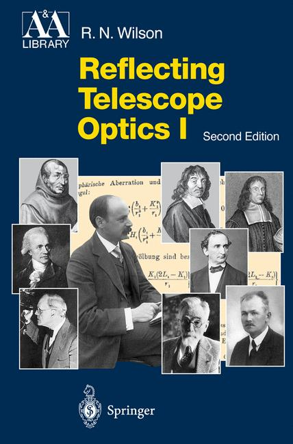 Cover of 'Reflecting Telescope Optics I : Basic Design Theory and its Historical Delvelopment'