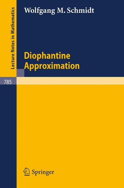 Cover of 'Diophantine Approximation'