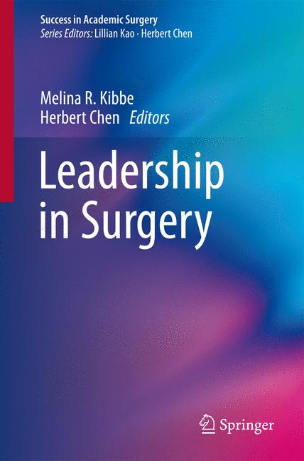 Cover of 'Leadership in Surgery'