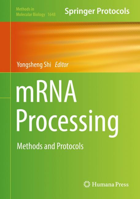 Cover of 'mRNA Processing'