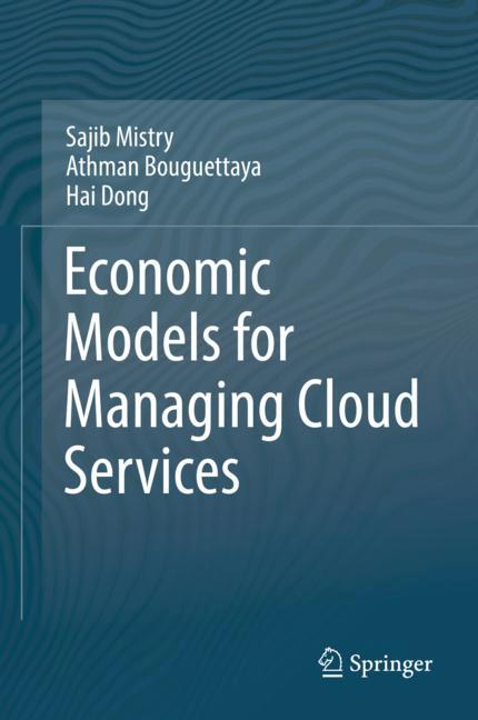 Cover of 'Economic Models for Managing Cloud Services'