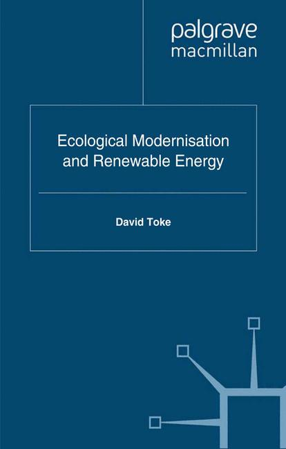 Cover of 'Ecological Modernisation and Renewable Energy'