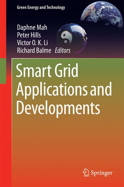Cover of 'Smart Grid Applications and Developments'
