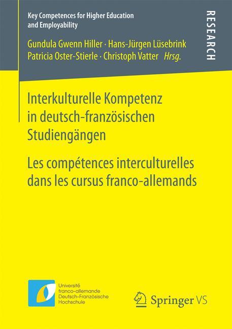 Cover of 'Interkulturelle Kompetenz in deutsch-französischen Studiengängen'