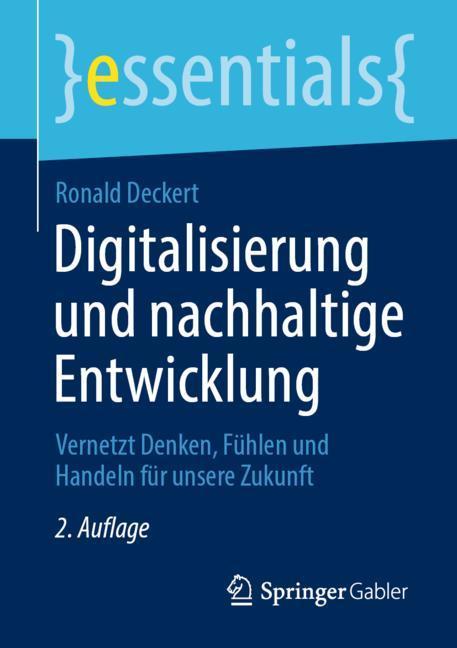Cover of 'Digitalisierung und nachhaltige Entwicklung'