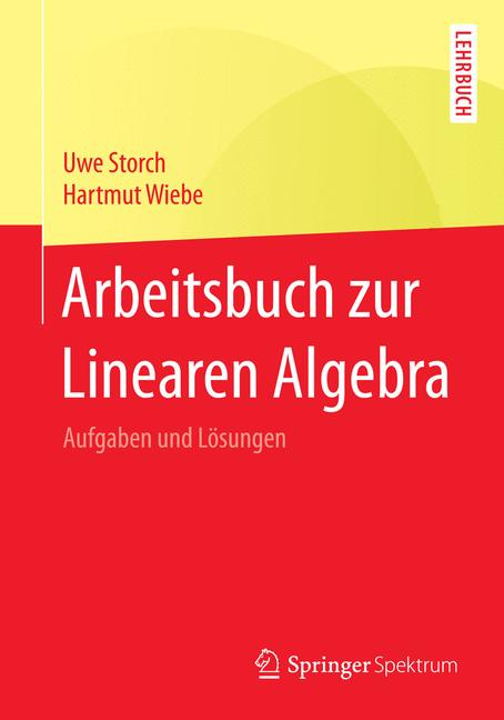 Cover of 'Arbeitsbuch zur Linearen Algebra'