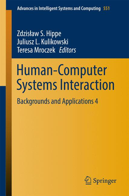 Cover of 'Human-Computer Systems Interaction'