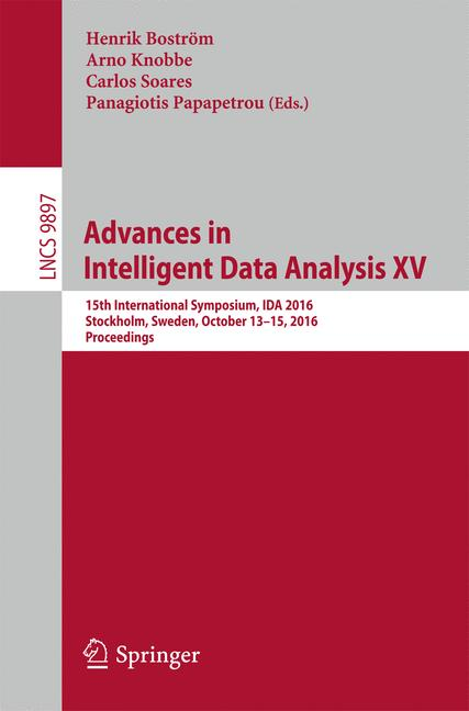 Cover of 'Advances in Intelligent Data Analysis XV'