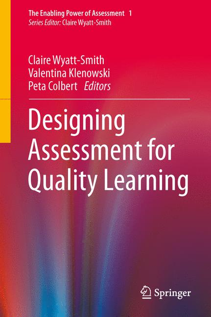 Cover of 'Designing Assessment for Quality Learning'