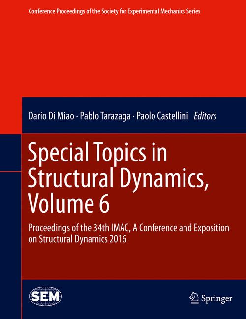 Cover of 'Special Topics in Structural Dynamics, Volume 6'