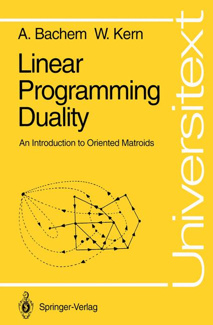 Cover of 'Linear Programming Duality'