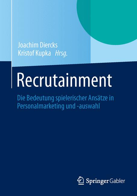 Cover of 'Recrutainment'