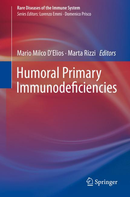 Cover of 'Humoral Primary Immunodeficiencies'