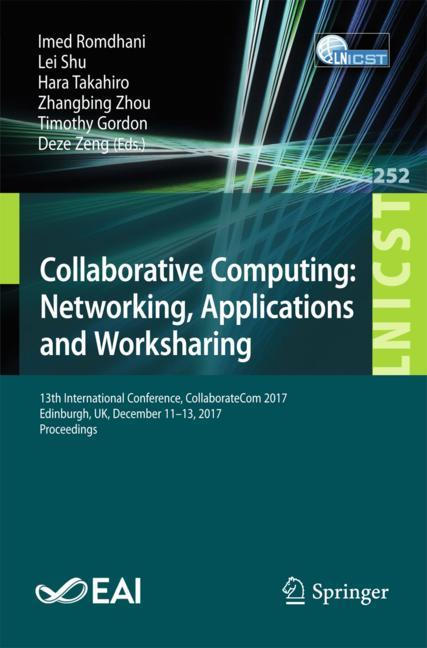 Cover of 'Collaborative Computing: Networking, Applications and Worksharing'