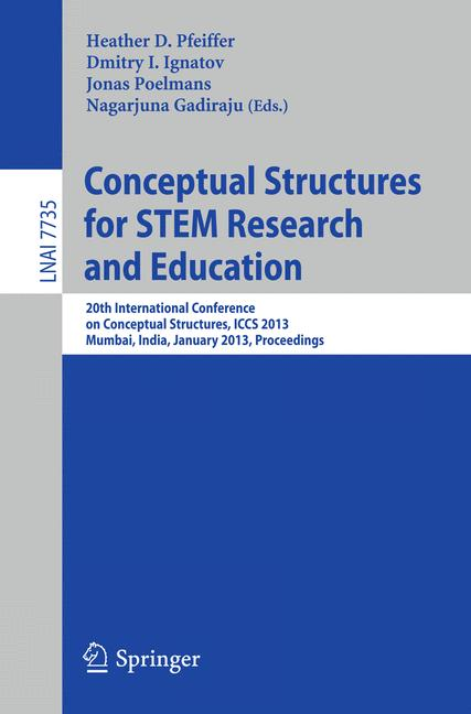 Cover of 'Conceptual Structures for STEM Research and Education'