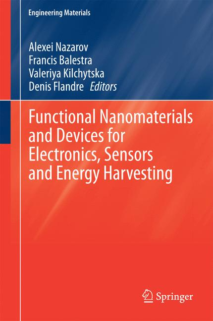 Cover of 'Functional Nanomaterials and Devices for Electronics, Sensors and Energy Harvesting'