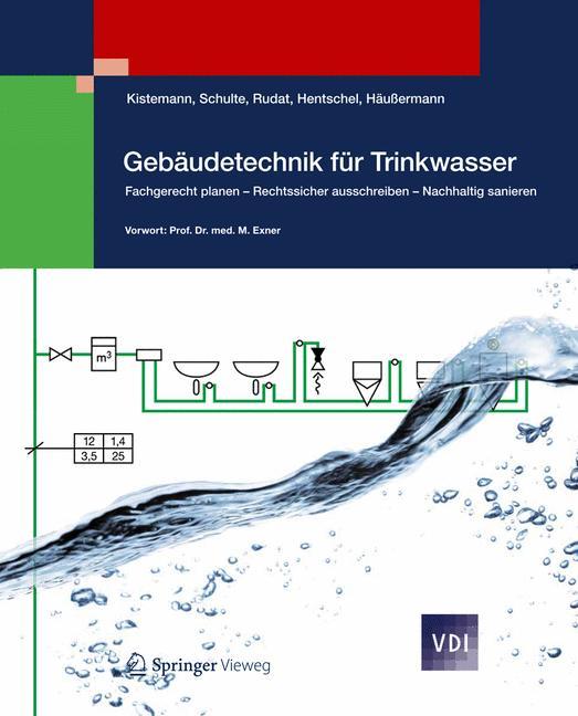 Cover of 'Gebäudetechnik für Trinkwasser'