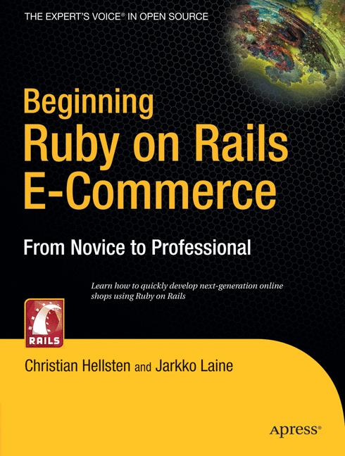 Cover of 'Beginning Ruby on Rails E-Commerce'