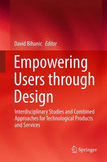 Cover of 'Empowering Users through Design'