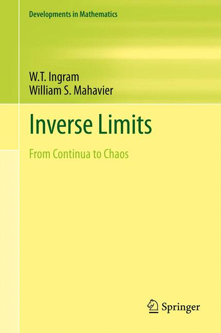 Cover of 'Inverse Limits'
