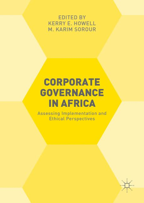 Cover of 'Corporate Governance in Africa'