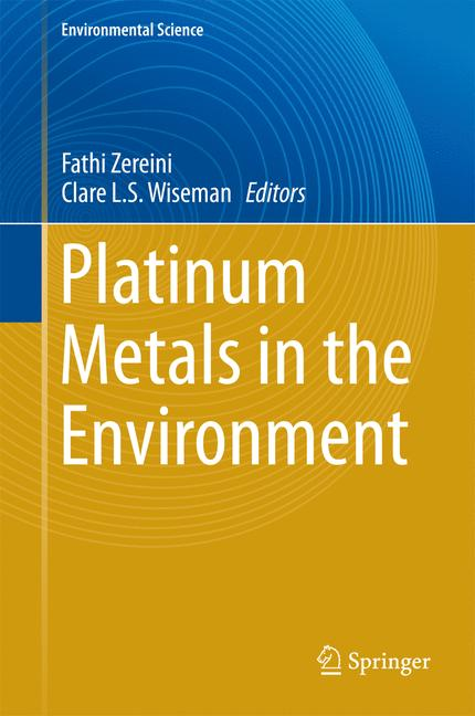 Cover of 'Platinum Metals in the Environment'