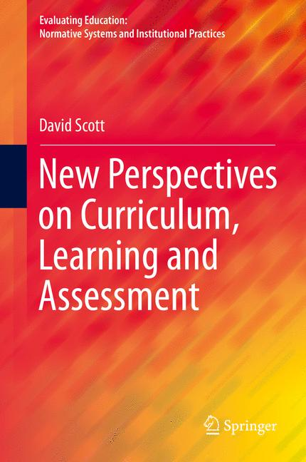 Cover of 'New Perspectives on Curriculum, Learning and Assessment'