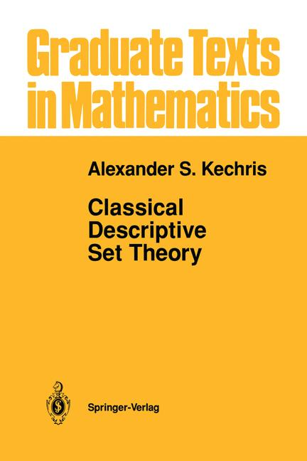 Cover of 'Classical Descriptive Set Theory'