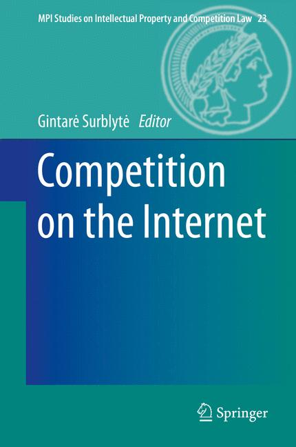 Cover of 'Competition on the Internet'