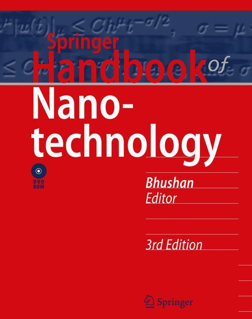 Cover of 'Springer Handbook of Nanotechnology'