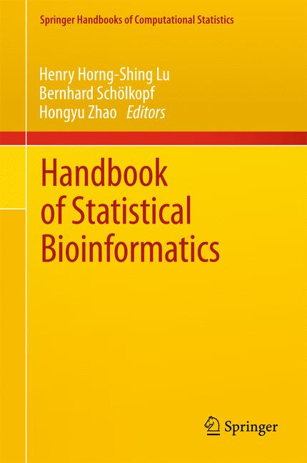 Cover of 'Handbook of Statistical Bioinformatics'