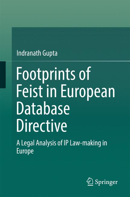 Cover of 'Footprints of Feist in European Database Directive'